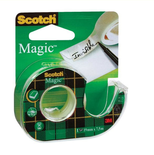 Scotch Magic teippi katkojalla 19 mm x 7,5 m