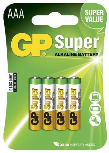 GP Super Alkaline paristo AAA