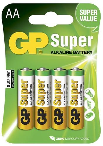 GP Super Alkaline paristo AA