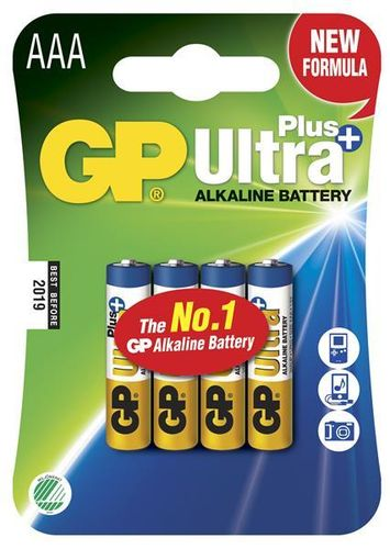 GP Ultra Plus AAA paristot, 4 kpl