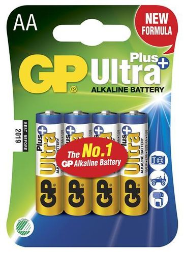 GP Ultra Plus AA paristot, 4 kpl