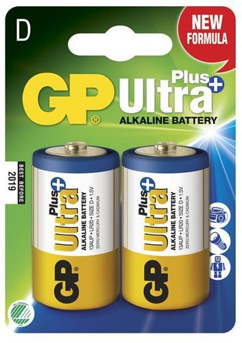 GP Ultra Plus D paristo, 2 kpl